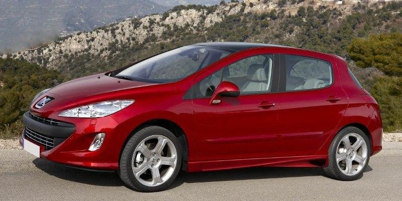 Dokładki Progów Peugeot 308 5D Hatchback & Estate < AF > - GRUBYGARAGE - Sklep Tuningowy
